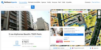 estimation immobilière en ligne ou agent
