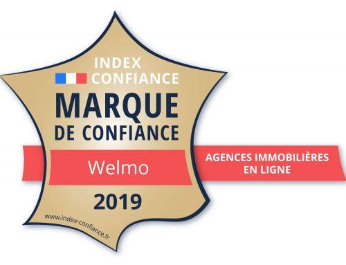 WELMO élue Marque de Confiance 2019